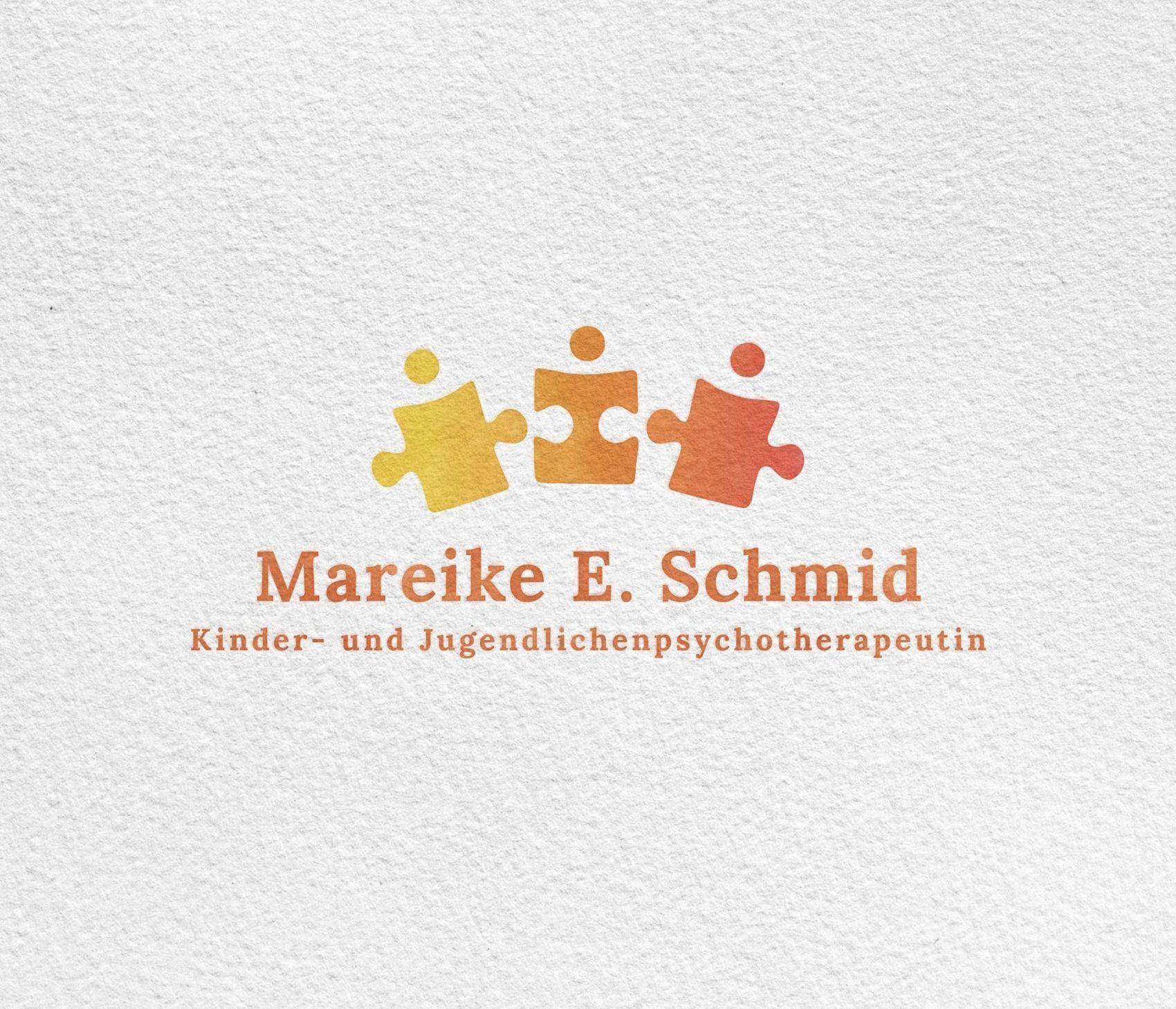 Logodesign Kinderpsychotherapeutin